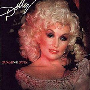 Dolly Parton: Burlap & Satin - Cover