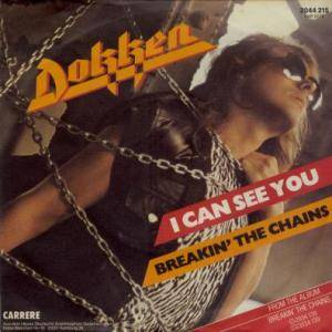 Cover - Dokken: I Can See You