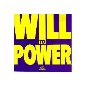 Cover - Will To Power: Will To Power