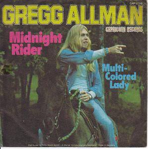 Cover - Gregg Allman: Midnight Rider