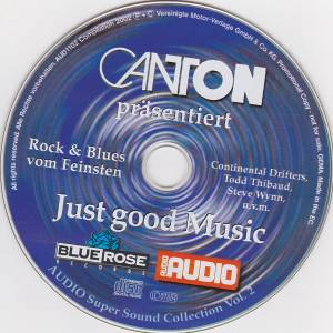 Cover - Continental Drifters: Audio - Super Sound Collection Vol.2 - Just Good Music - Blue Rose Records