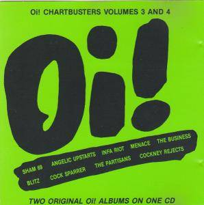 Oi! Chartbusters Volumes 3 And 4 - Cover