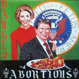 Dayglo Abortions: Feed Us A Fetus - Cover