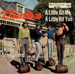 The Monkees: Little Bit Me, A Little Bit You, A - Cover