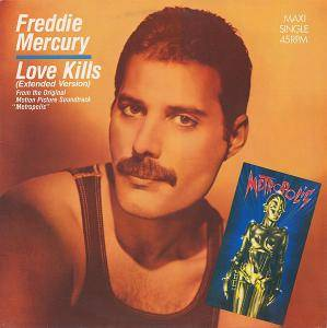 Cover - Freddie Mercury: Love Kills