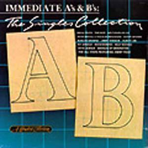 Immediate A's & B's/The Single Collectionj - Cover