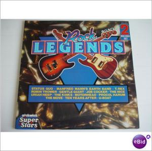 Cover - Various Artists/Sampler: Rock Legends