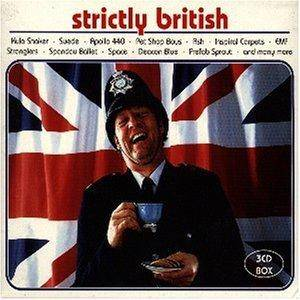 Strictly British - Cover
