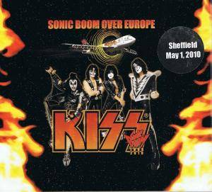 KISS: Sonic Boom Over Europe - Cover