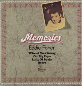 Cover - Eddie Fisher: Memories