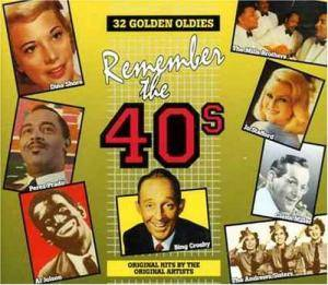 Remember The 40's - Cover