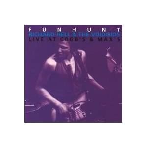 Cover - Richard Hell & The Voidoids: Funhunt
