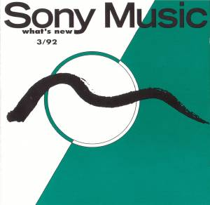 Sony Music - What's New 3/92 - Cover