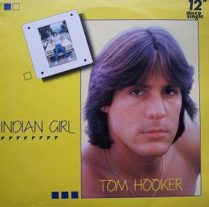 Tom Hooker: Indian Girl - Cover