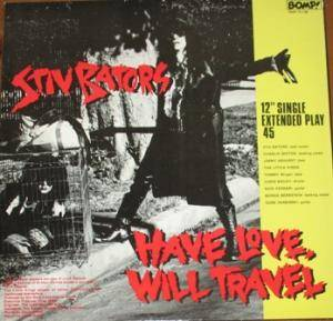 Cover - Stiv Bators: Have Love, Will Travel
