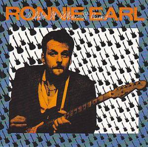 Ronnie Earl: I Like It When It Rains - Cover