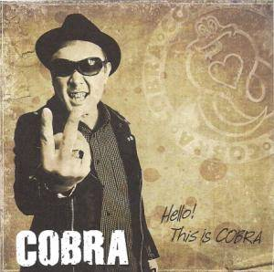 Cobra: Hello! This Is Cobra - Cover