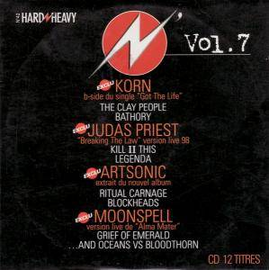 Cover - ...And Oceans Vs. Bloodthorn: Hard N' Heavy Vol. 7