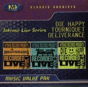 Cover - Die Happy: Intense Live Series