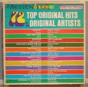 Cover - Inez Foxx: 72 Top Original Hits By The Original Artists