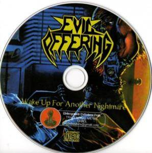 Evil Offering: Wake Up For Another Nightmare (CD) - Bild 4