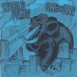 One On One: One On One / World Piece - Cover