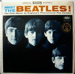 The Beatles: Meet The Beatles! - Cover