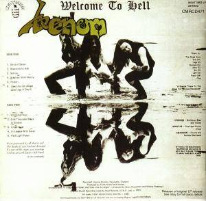 Venom: Welcome To Hell (CD) - Bild 2