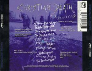 Christian Death: Atrocities (CD) - Bild 2