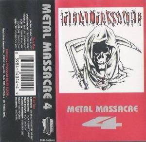 Metal Massacre IV (Tape) - Bild 1
