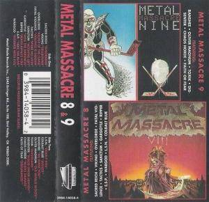 Metal Massacre 8 & 9 (Tape) - Bild 1