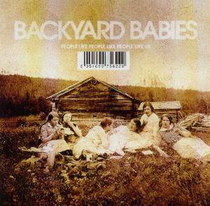 Cover - Backyard Babies: People Like People Like People Like Us