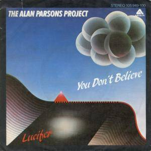 The Alan Parsons Project: You Don't Believe - Cover