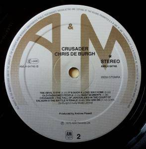 Chris de Burgh: Crusader (LP) - Bild 6