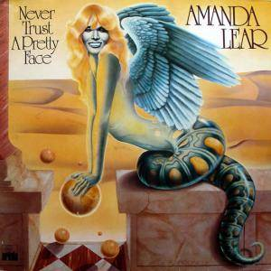 Cover - Amanda Lear: Never Trust A Pretty Face