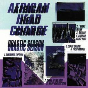 Cover - African Head Charge: Drastic Season