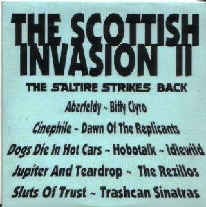 Scottish Invasion II: The Saltire Strikes Back, The - Cover