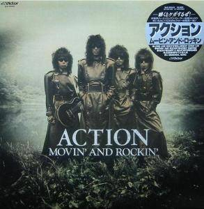 Cover - Action!: Movin' And Rockin'
