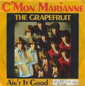 Cover - Grapefruit: C'mon Marianne