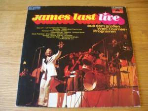 James Last: Live - Cover