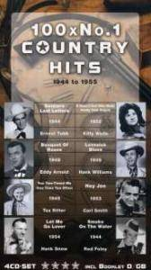 Cover - Bing Crosby & The Andrews Sisters: 100 X No.1 Country Hits 1944 To 1955
