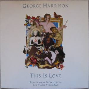 George Harrison: This Is Love - Cover