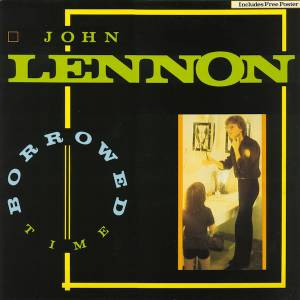 John Lennon: Borrowed Time - Cover