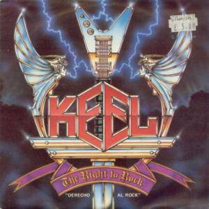 Keel: Right To Rock, The - Cover