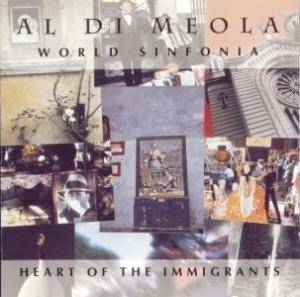 Al Di Meola: World Sinfonia - Heart Of The Immigrants - Cover