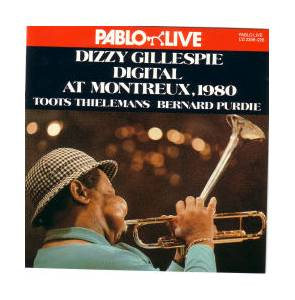 Dizzy Gillespie: Digital At Montreux, 1980 - Cover