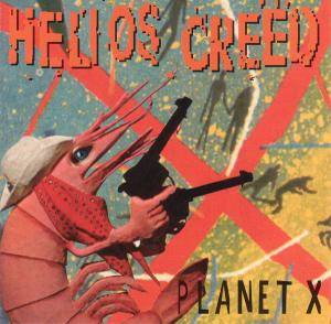 Helios Creed: Planet X - Cover