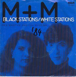 Cover - Martha And The Muffins: Black Stations/White Stations
