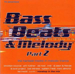 Cover - DJ Scot Project: Bass Beats & Melody Part 2