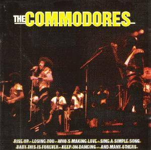 Commodores: Commodores, The - Cover